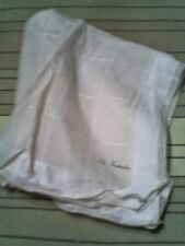 petit foulard femme/homme - la foulardiere - - blanc -