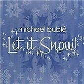 **CHRISTMAS PARTY 2016!** MICHAEL BUBLE 'LET IT SNOW' CD ALBUM 2007