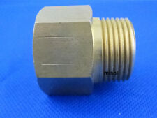 "misol Adaptor fitting 1"" BSP (DN25) male to 1"" NPT female, Brass, Adapter"