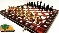 SENATOR - 40cm / 16in Handcrafted Classic Wooden Chess Set