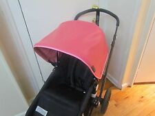 Replacement custom canopy sunshade hood stroller pram for bugaboo stroller pink