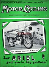 Aug 22 1957 ARIEL Motor Cycles ADVERT - Original Magazine Cover Print