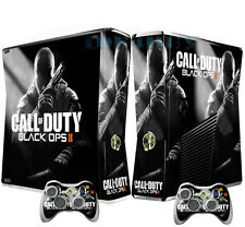Black 2 Cool X box 360 Skins Vinyl Sticker Decals Cover for X box Slim Console