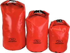 16L DRY BAG WATERPROOF Bright Orange Tough camping sack sailing yachting pouch