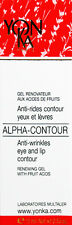 Yonka Alpha Contour Eye And Lip Renewal Eye Gel 0.5oz(15ml)  BRAND NEW