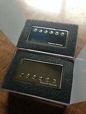 Seymour Duncan SH-4 JB and SH-2 Jazz Hot Rodded Humbucker Pickup Set Nickel Logo