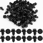 100 Pcs 10mm Honda Clips Plastic Push Type Rivet Retainer Fastener Bumper Pin