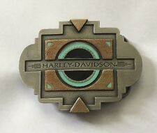 Harley Davidson 1996 Southwest Black Sun Belt Buckle New In Box