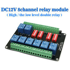 SRD-DC5V-SL-C DC12V 8-channel Relay Module With 8 Road of High Low Level