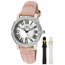 Invicta 13967 Women's Wildflower Changeable Leather Strap Watch