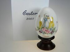 Noritake Easter Egg 2007 Limited Edition Bone China Made in Japan