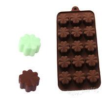 Four-Leaf Clove Chocolate Mini Soap Jello Candy Ice Cream Silicone Mold