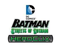 HEROCLIX Streets of Gotham Fire 008 Ice 017 (Justice League International) LOT