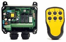 Hoist Radio Control - Tele-Radio Panther System. Single or Dual Speed Buttons
