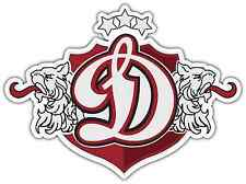 "Dinamo Riga KHL Hockey Car Bumper Window Locker Sticker Decal 5""X4"""