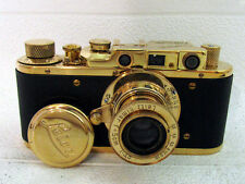 LEICA-II(D) Luftwaffe WWII VINTAGE RUSSIAN RF35mm GOLD CAMERA EXCELLENT