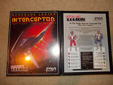 Renegade Legion - Interceptor. by FASA game.  NEW UNPUNCHED in SW. Space RPG