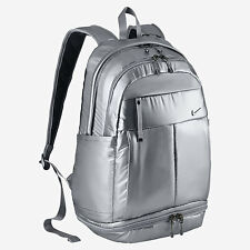 Nike Victory Backpack Metallic Silver Gym Bag Unisex Running Sport BA5008 010