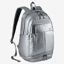 Nike Victory Backpack Metallic Silver Gym Bag Unisex Running Sport BA5008 010