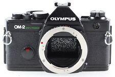 Olympus OM-2 OM 2 Spot / Program Gehäuse Body Spiegelreflexkamera schwarz black