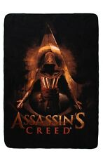 "Assassins Creed Aguilar Character Super Plush Fleece Throw Blanket 45""x60"" NWT!"
