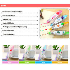 Stationery Push Correction Tape Lace For Key Tags Sign School Supplies
