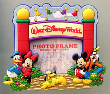 Walt Disney World Mickey Mouse Main Entry Gate 2 x 3 inch Magnetic Photo Frame