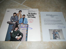 Paul McCartney Beatles IP Signed Yesterday and Today LP Frank Caiazzo Certified