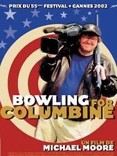 Affiche 120x160cm BOWLING FOR COLUMBINE 2002 Michael Moore - documentaire