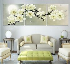 Home Decor Art Painting Moon Flower Modern Picture Oil On Canvas Wall No Frame