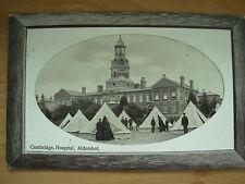 VINTAGE 1911 POSTCARD CAMBRIDGE HOSPITAL ALDERSHOT WITH MILITARY CAMP