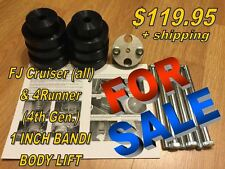 BANDI BODY LIFT - 1 (1.0) inch Toyota FJ & 4Runner (4th Gen.)