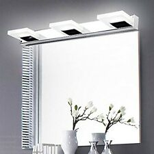 Modern Bathroom Crystal 3*3W Wall LED Lamps Cold White Cabinet Mirror Lights