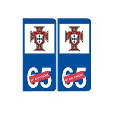 portugal foot euro numéro choix autocollant plaque sticker arrondis