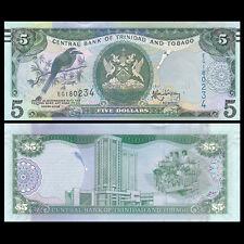Trinidad and Tobago 5  Dollar, 2006(2015), P-47 NEW, UNC