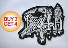 DEATH WT BACK PATCH BUY3GET4,AUTOPSY,CARCASS,MORBID ANGEL,NILE,SUFFOCATION,METAL