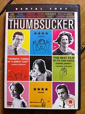 Keanu Reeves Tilda Swinton THUMBSUCKER ~ 2005 American Indie Comedy | UK DVD