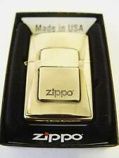 Zippo® Luxury Golden lighter  Emblem 2012 - Limited Edition - Brass Neu/New OVP