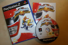 PLAYSTATION 2 PS2 GAME POWER RANGERS SUPER LEGENDS +BOX INSTRUCTIONS COMPLETE