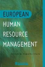 European Human Resource Management : An Introduction to Comparative Theory...