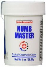 Numb Master 5% Topical Anesthetic Lidocaine Cream (1 Oz) - Doctor Recommended