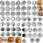 56 Style Russian Tulip Icing Piping Nozzles Stainless Tips Cake Decorating Tool