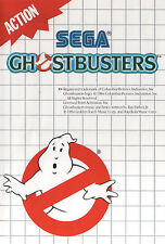 # Sega Master System-Ghostbusters/MS juego #
