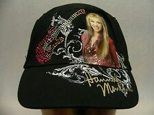 HANNAH MONTANA - MILEY CYRUS - GIRLS M/L SIZE ADJUSTABLE BALL CAP HAT!