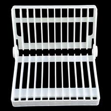 Kitchen Foldable Dish Plate Drying Rack Organizer Drainer Plastic Storage Holder