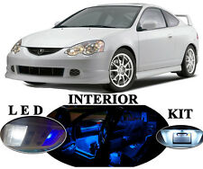 LED Package - Interior + License Plate + Vanity for Acura RSX (12 pieces)