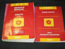 1997 Dodge Dakota Truck Shop Manual 2pcs