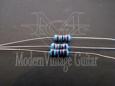 1- Modern Vintage Guitar 120k Ohm 1/4W 1% metal film resistors Treble Bleed