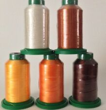 5 pack of Isacord Thread Fall kit -( New in wrapper)