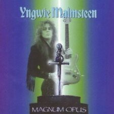 Yngwie Malmsteen : Magnum Opus CD 1995  GUITAR ROCK UK Pressing
